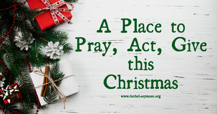 Personal Prayer & Mission Focus for December 2019